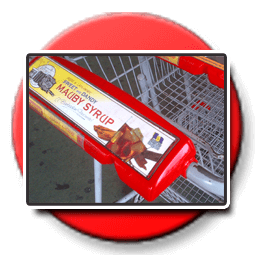 Adopt-a-Stop Trolley Handle Ads